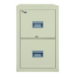 Fireking Patriot 2P1825-C Letter/Legal 1 Hour Fire Rated File Cabinet - Parchment