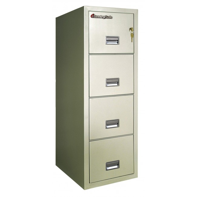 Sentry 4T3120 4 Drawer File Cabinet with 2 Hour FIre Rating ...