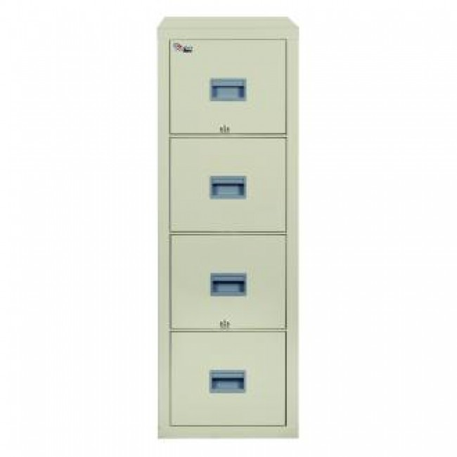 ... Fireking Patriot 4P1831 C Letter 1 Hour Fire Rated File Cabinet    Parchment