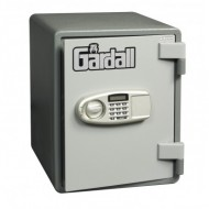 "Gardall ES1612-G-E Single Shelf Vertical U.L. 1 Hour ""Microwave"" Fire Safe with ""Key and Combination"" Lock"