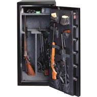 Gardall BGF6024 16 Gun UL Rated Fire/RSC Burglar Safe, Door Organizer - Open