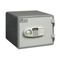"""Gardall MS814-G-E 1 Hr Fire """"Microwave"""" Safe with Electronic Lock - Side View"""