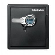 Sentry SFW123BDC Biometric/Key Safe, 1 Hr Fire/Water/Impact & Boltable