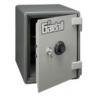 "Image for Gardall SS1612-G-CK Single Shelf Vertical U.L. 1 Hour Fire ""Microwave"" Safe with ""Key and Combination"" Lock"