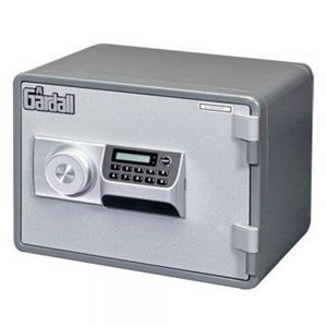 Gardall MS912-G-E Horizontal 1 Hr Fire Microwave Safe with Electronic Lock