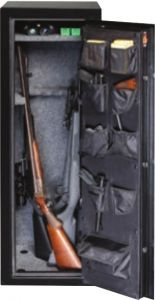 GF5517 with Door Open showing Premium Door Organizer